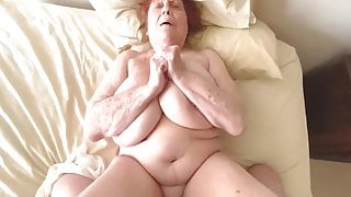 Granny Lets Grandson Fuck Her and She Keeps Orgasming