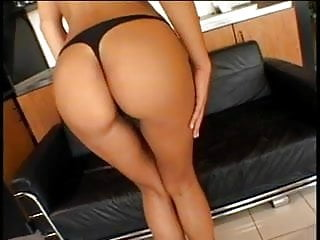 Blowjob video big tits Big tits brunette gets her ass plugged by big cock