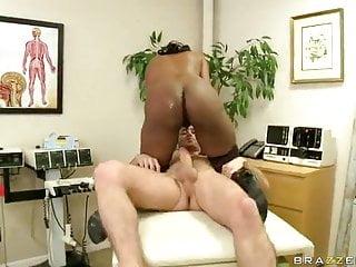 Nyomi banxxx anal Ebony milf nyomi banxxx sits her ass in young boy weaponry