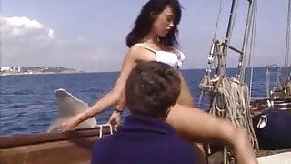 Anita on a cruise ship