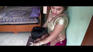 Hot Village Bhabhi Hot Romance With Electric Machine Boy