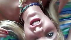 Du foutre plein sa bouche de blondasse
