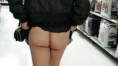 Ass flash