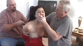 Tomiko bound and gagged