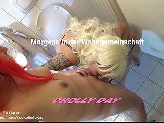 Lesbian cumming licking German amateur morning starts with lesbian cunt licking