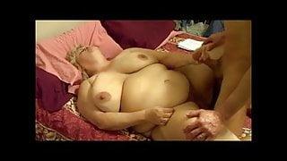 Cunnilingus, poking & husbands wad on my tummy. 240-241