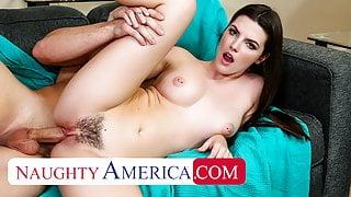 Naughty America - Fiona Frost fucks Peter's big dick