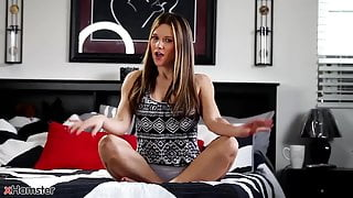 xHamster presents sexy mom Mandy Flores in foot fetish JOI