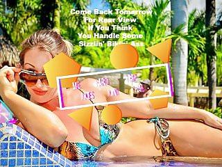 Melissa satta bikini pics Melissa hardbody stripper snakeskin string bikini