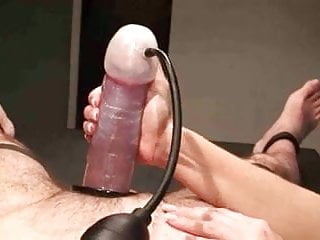 Men pumping cock