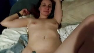 American couple licking pussy and sex scene