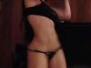 Abandon fetish smoking woman - Smoking body latina dances samba