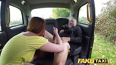 Fake Taxi Horny redhead hottie in filthy taxi suck and fuck