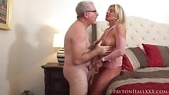Tanned MILF with a white wristwatch gets fucked