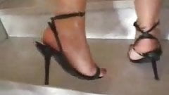 Lady Heels and slave
