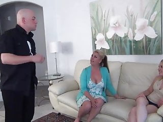 Do threesomes ever work - Mom lets her daughter do what ever she wants to do to her br