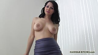 I want you to watch a real man fuck me
