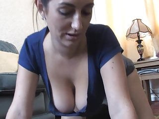 Free fuck in in cameras - Big nice boobs showing off in a free down blouse