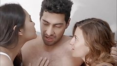 GF and BF Agree to Have Threesome Sex