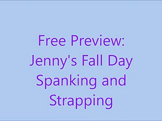 Bbws free Free preview: jennys fall day spanking and strapping