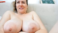 Big titted housewife squirts