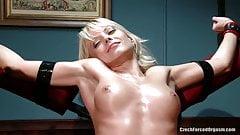 Jana Cova tickling 4