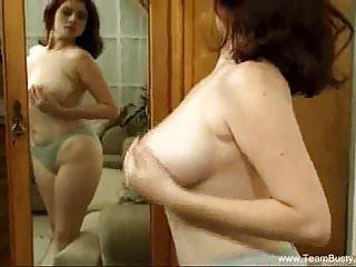 Perfect redhead milfs - Giant boobs perfect milf solo