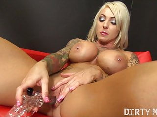 Sexy womans tattoos - Filthy pornstar dani andrews cums on her dildo