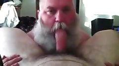 Bearded Dad Sucking Really Good