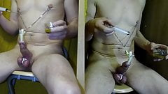 injection spicy oil in sex - challenge