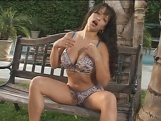 Large breasts in low cut tops - Exotic beauty wraps her large breasts around a throbbing cock