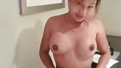 Asian tight pussy take care of big cock pt.1