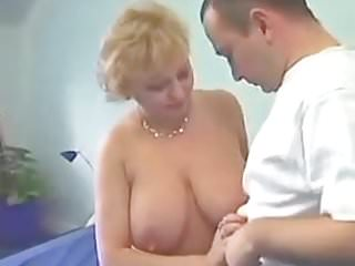 Mature blonde stocking - Sexy mature blonde fucking