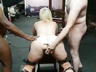 Watch porn star dee free Hotwife dee playing with bulls while cuck hubby watches