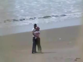 Sister caught having sex Arab hijab girl with her bf caught having sex on the beach