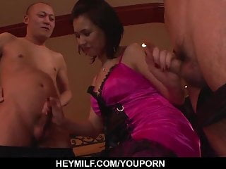 Dulce maria xxx Romantic xxx display with busty maria - more at japanesemama