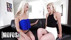 Horny Blonde Babes Elsa Jean Anya Shidlerova Had Sex