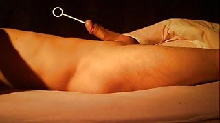 urethral gym tonic with a stem of 15 cm and cumshot