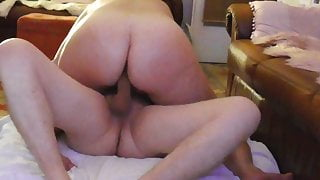 Fat ass wife fucked hard