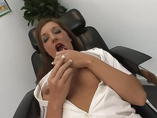 Nude wet nurse Dirty nurse gets really wet for doctors cock