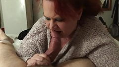 Deep throat BJ