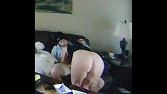 Big ass cheating wife on real homemade