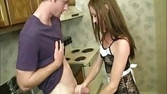 Hot Maid Handjob