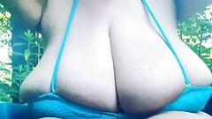 Huge tits her name please?