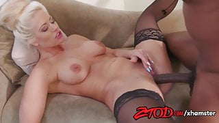 Holly Heart loves to get pierced by a big black cock