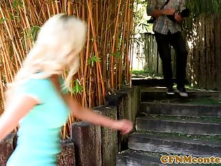 Punishment long femdom video cfnm videos Femdom beauties punishing paparazzi pervert