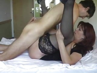 Hot black women having sex Hot housewife having sex with black stockings high heels
