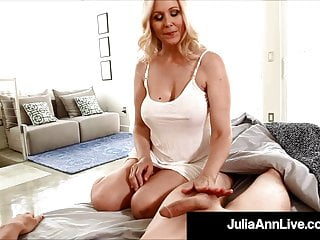 Step mother son sex Hot step-mother julia ann gives step-son early am handjob