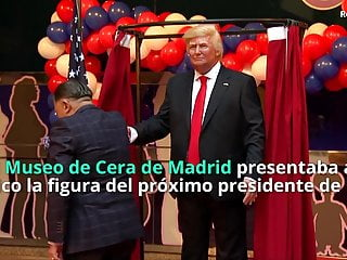 Sexual harrassment cases art van furniture Busty spanish activist harrasses trump wax figure