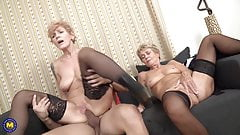 Mature sluts suck and fuck young cocks